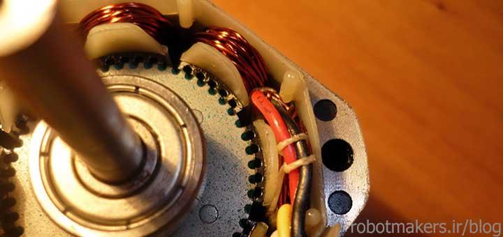 موتورهای استپر