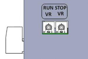 درایور استپ موتور پنج فاز، پیچ تنظیم جریان در درایور استپر موتور پنج فاز
