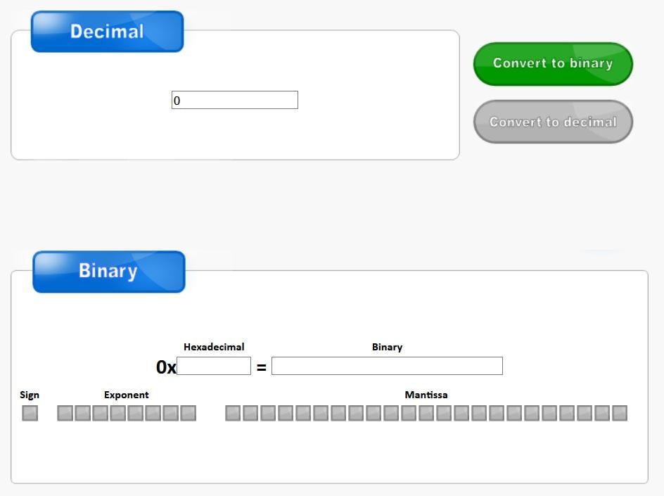 شکل ۹-۴: مبدل تحت وب تبدیل عدد دسیمال به فرمت IEEE754 و برعکس