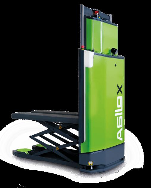 شکل ۲: ربات AGILOX