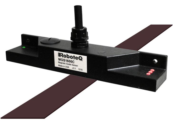 شکل ۲۴: سنسور هدایت مغناطیسی (Magnetic Guide Sensor)