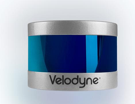 شکل ۲۸: سنسور لیدار سه بعدی ساخت شرکت Velodyne